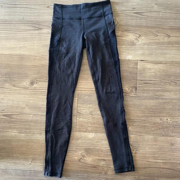 Lululemon Black and Grey Leggings